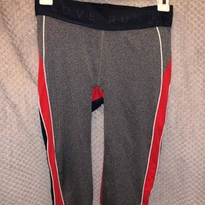 Aero work out pants cropped